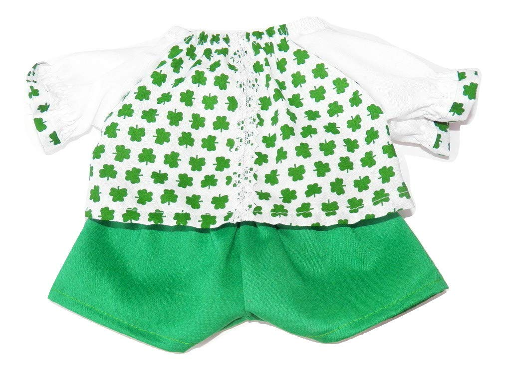 Cabbage Patch Doll Clothes fits 14 doll or 14 preemie girl doll includes One handmade White Owl Print Flannel Pajamas