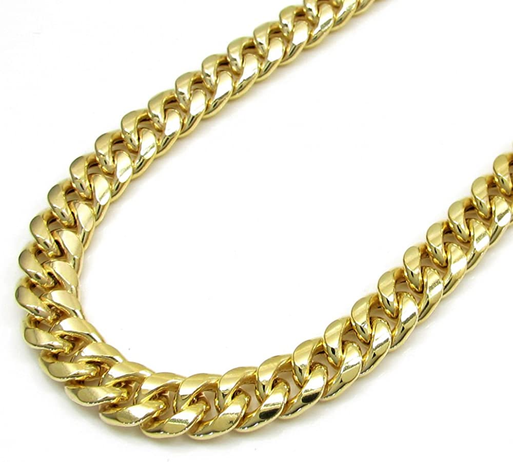Jawa Jewelers 10K Yellow Gold Mens 2MM Rope Chain /& Bracelet Lobster Clasp
