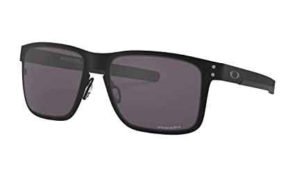 be646e1f27 Image Unavailable. Image not available for. Color  Oakley Holbrook Metal  Sunglasses Matte Black with Prizm Grey Lens