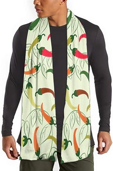 H.D. Bufanda de invierno para hombre y mujer, de algodón para el ...
