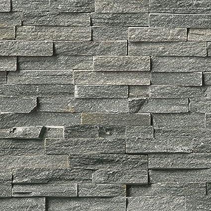 4 Pack of Dumapan SMP Masonry Grey Brick Effect Wall Panel - PVC Bathroom /  Kitchen Wall Panels