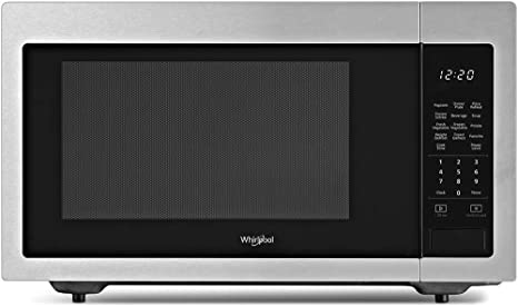 Amazon.com: Whirlpool 1.6 Cu Ft. En acero inoxidable ...