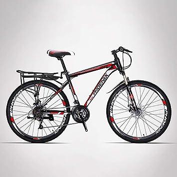 HECHEN Bicicleta-26 y 27 Pulgadas Freno de Disco de 27 velocidades ...