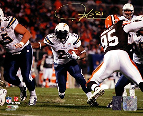LaDainian Tomlinson Autographed 8x10 Photo San Diego Chargers LT Holo Stock #76105
