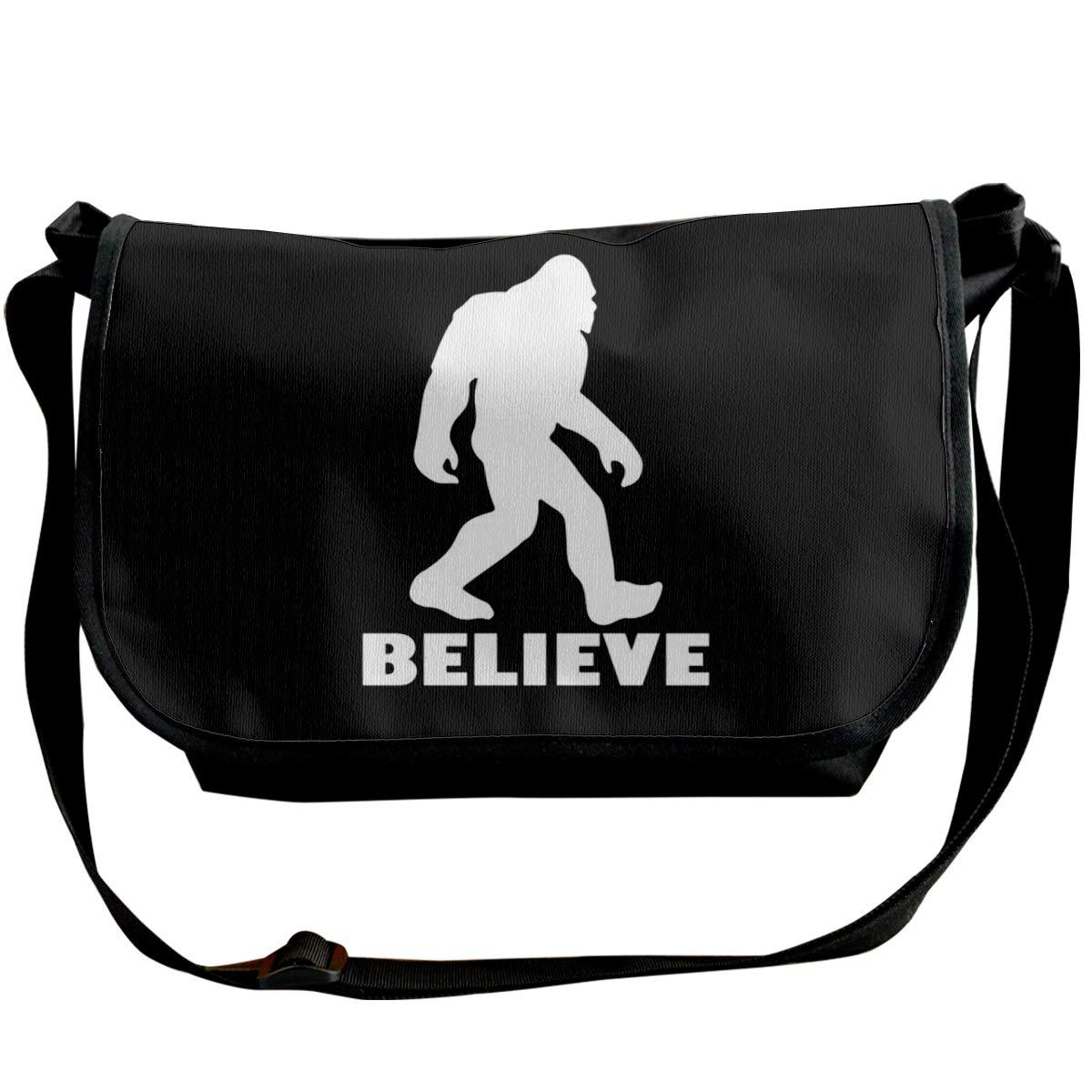 Futong Huaxia Bigfoot Silhouette Retro Travel Messenger Bags Handbag Shoulder Bag Crossbody Bag Unisex