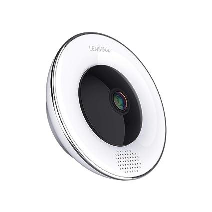 Cámara de vigilancia para el hogar Lensoul 3 Millones Píxeles 1536P HD IP Wifi Cámara de