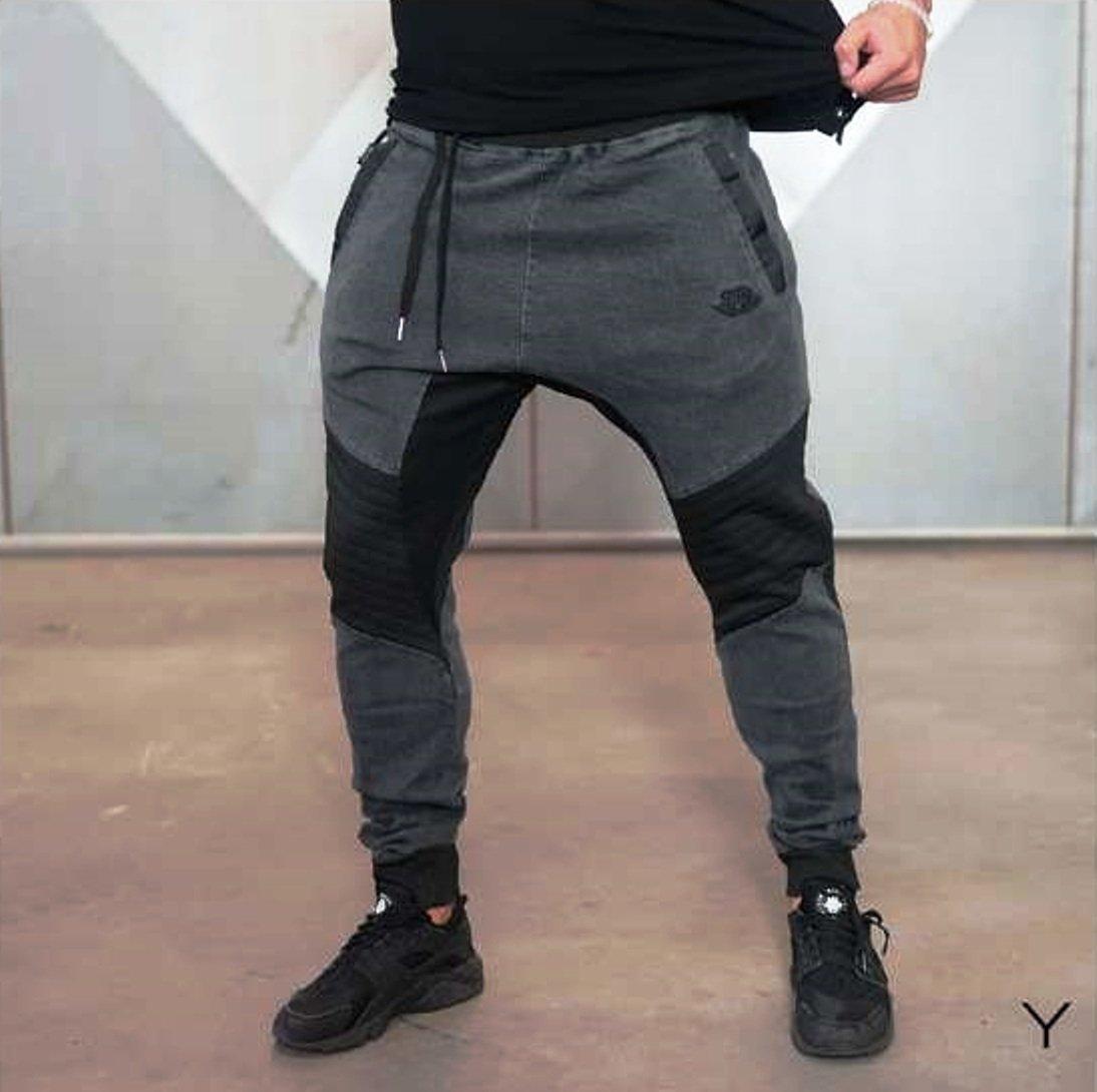 Body Engineers YUREI – X DENIM Jeans ANTHRACITE Größe XXL