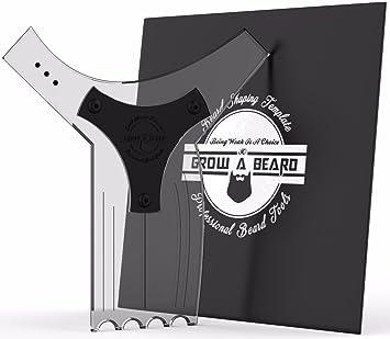 Beard Template   Amazon Com Beard Shaping Tool Template For Men Premium Friendly