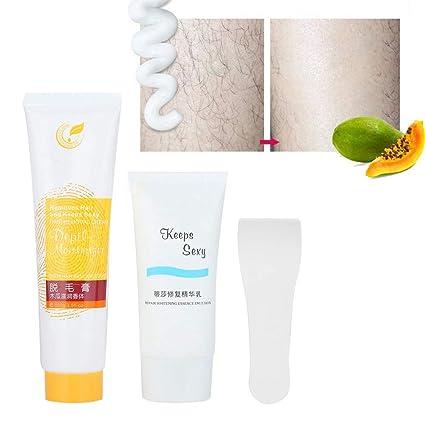 Crema depilatoria para el cabello, crema depilatoria portátil ...