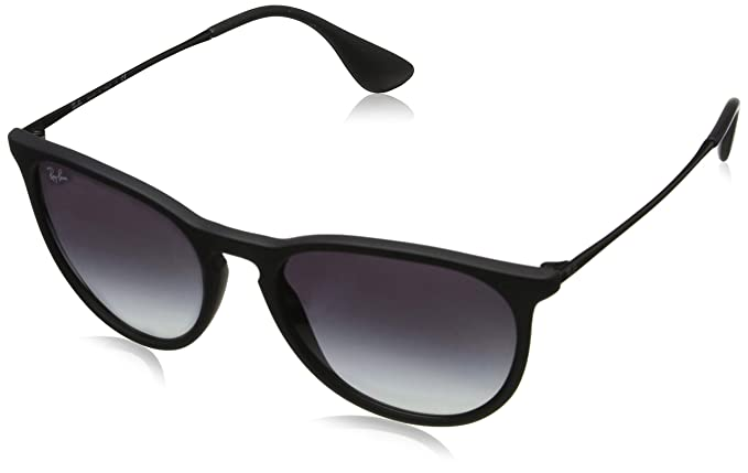 RAY BAN ERIKA RB4171 622/8G Gafas de Sol - Black: Amazon.es ...