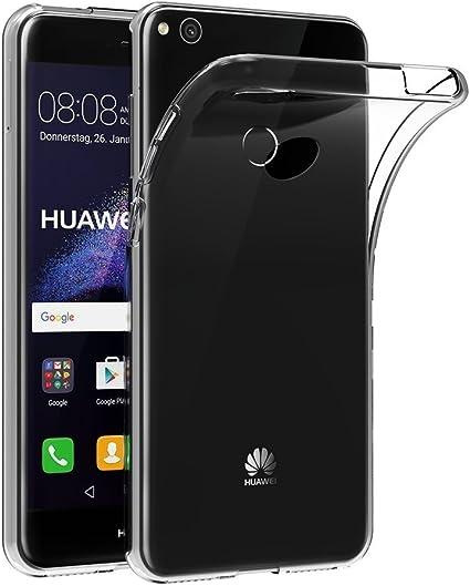 REY Funda Carcasa Gel Transparente para Huawei P8 Lite 2017 / P9 Lite 2017, Ultra Fina 0,33mm, Silicona TPU de Alta Resistencia y Flexibilidad: Amazon.es: Electrónica