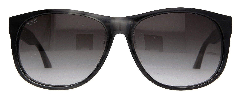 e1f5d6588f3 Tod s Sunglasses Black Tortoise TO0165-F-6020B  Amazon.co.uk  Clothing