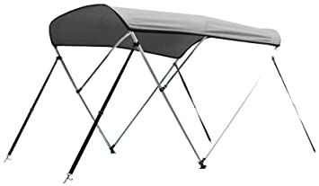 Leader Accessories Grey 3 Bow 6L X 46quotH 54quot