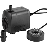 Bomba de Agua Sumergible Pump Acuario Pecera15W LED
