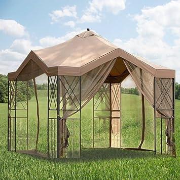 Amazon.com: Deluxe Pagoda Gazebo Replacement Canopy: Garden & Outdoor