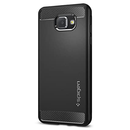 Spigen Rugged Armor Designed for Samsung Galaxy A5 Case (2017) - Black