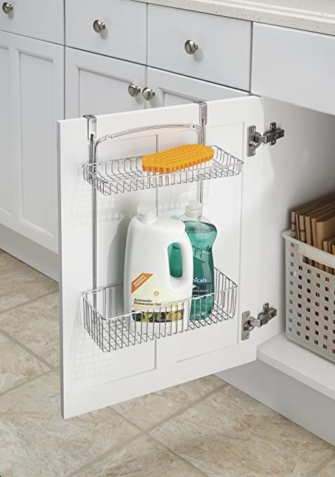 Over the cabinet organizer for kitchen