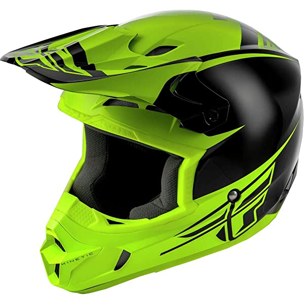 2019 Fly Racing Elite Solid Matte Black Offroad Motocross MX Race Helmet Adults