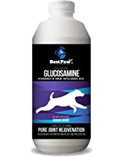Liquid Glucosamine for Dogs The Best Anti-Aging Natural Medicine for Joint Pain Recommended by Vets for Arthritis & Hip Dysplasia Chondroitin MSM Hyaluronic Acid Effective 32oz Made in The USA (32oz)