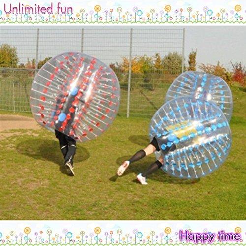 Yoli® trajes de fútbol de Bubble Dia (1.5 m) humana hinchable ...