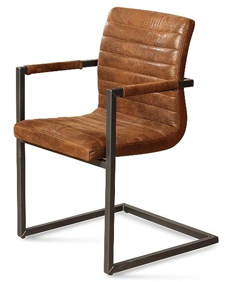 4x Esszimmerstuhl Stühle Küchenstuhl Polsterstuhl Stuhlgruppe Stuhl braun B-Ware