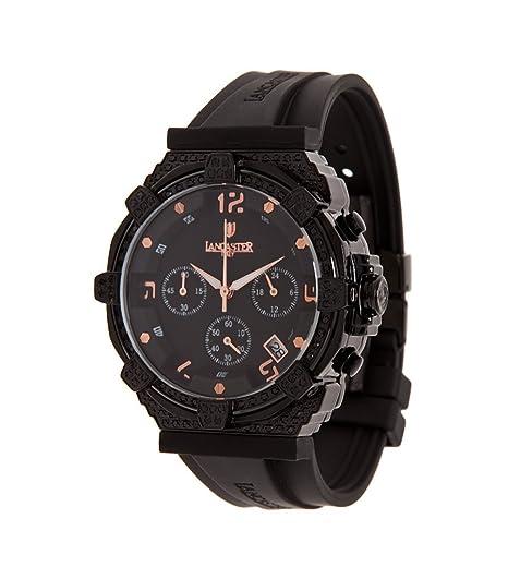 d0573728f10d Reloj Lancaster Italy - Mujer OLA0441L BK RG NR NR  Amazon.es  Relojes