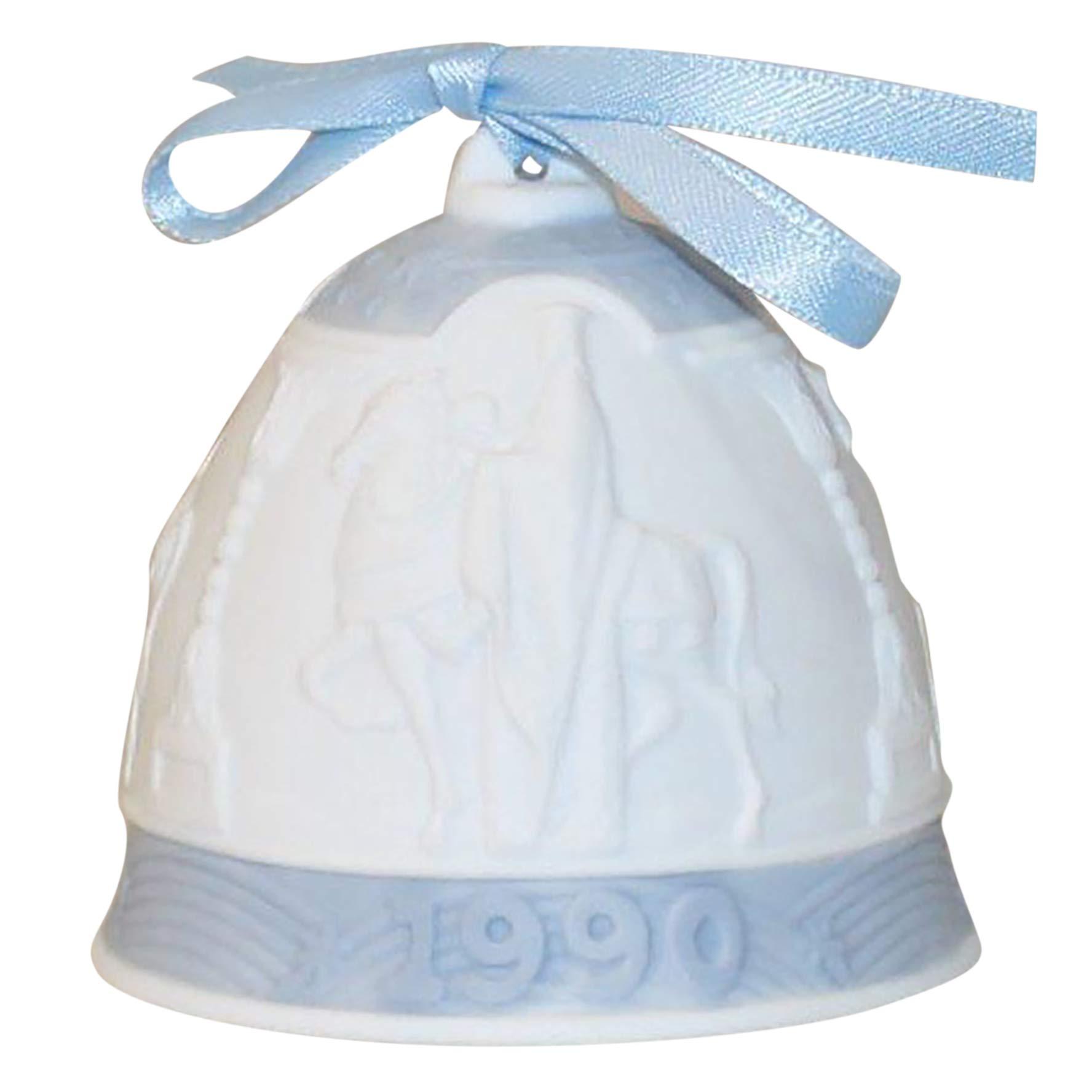 Lladro 1990 Christmas Porcelain Bell