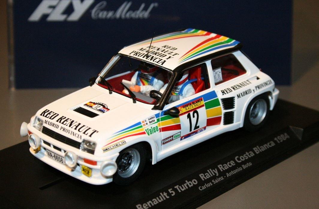 Fly - Scalextric slot 88169 renault 5 turbo rally race costa blanca 1984: Amazon.es: Juguetes y juegos
