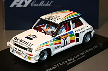 Fly - Scalextric slot 88169 renault 5 turbo rally race costa blanca 1984