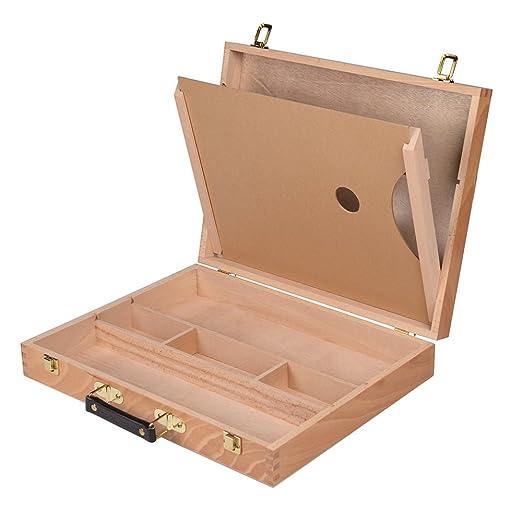 Conda ajustable madera caballete de mesa de escritorio con cajón ...