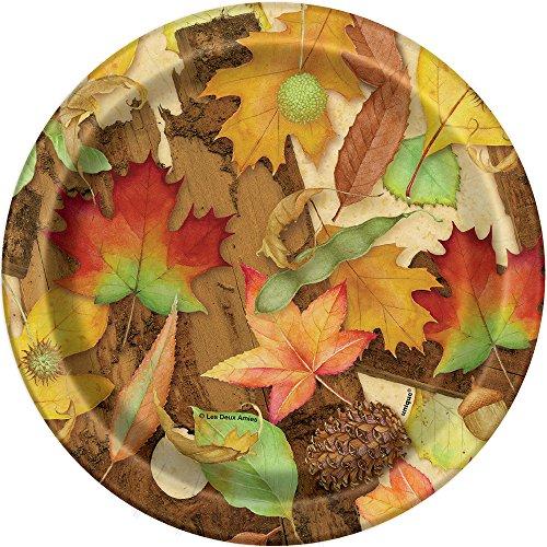Woodland Fall Dessert Plates,