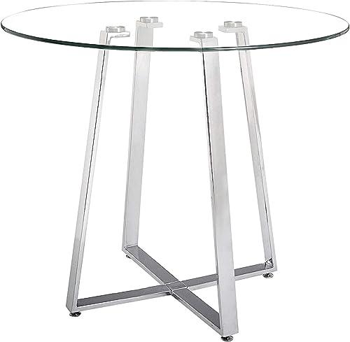 Lemon Drop Counter Table Chrome - a good cheap living room table