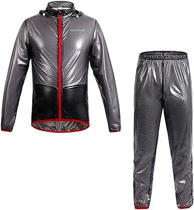 Biking Cycling Jersey Wind Coat Bike Bicycle Sports Rain Suit Jacket Pants