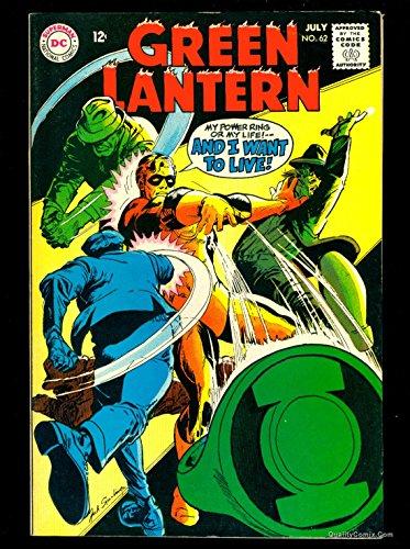Green Lantern #62 VF 8.0 Tongie Farm Collection Pedigree
