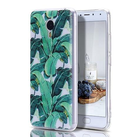 Funda Meizu M3 Note, CaseLover Carcasa para Meizu Blue Charm Note 3 Silicona Transparente Suave TPU Protectora Caso Ultra Delgado Flexible Gel Goma ...