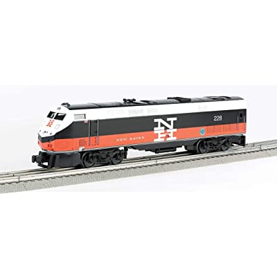 Bachmann Industries General Electric Genesis Scale Diesel New Haven 228 O Scale Train: Toys & Games