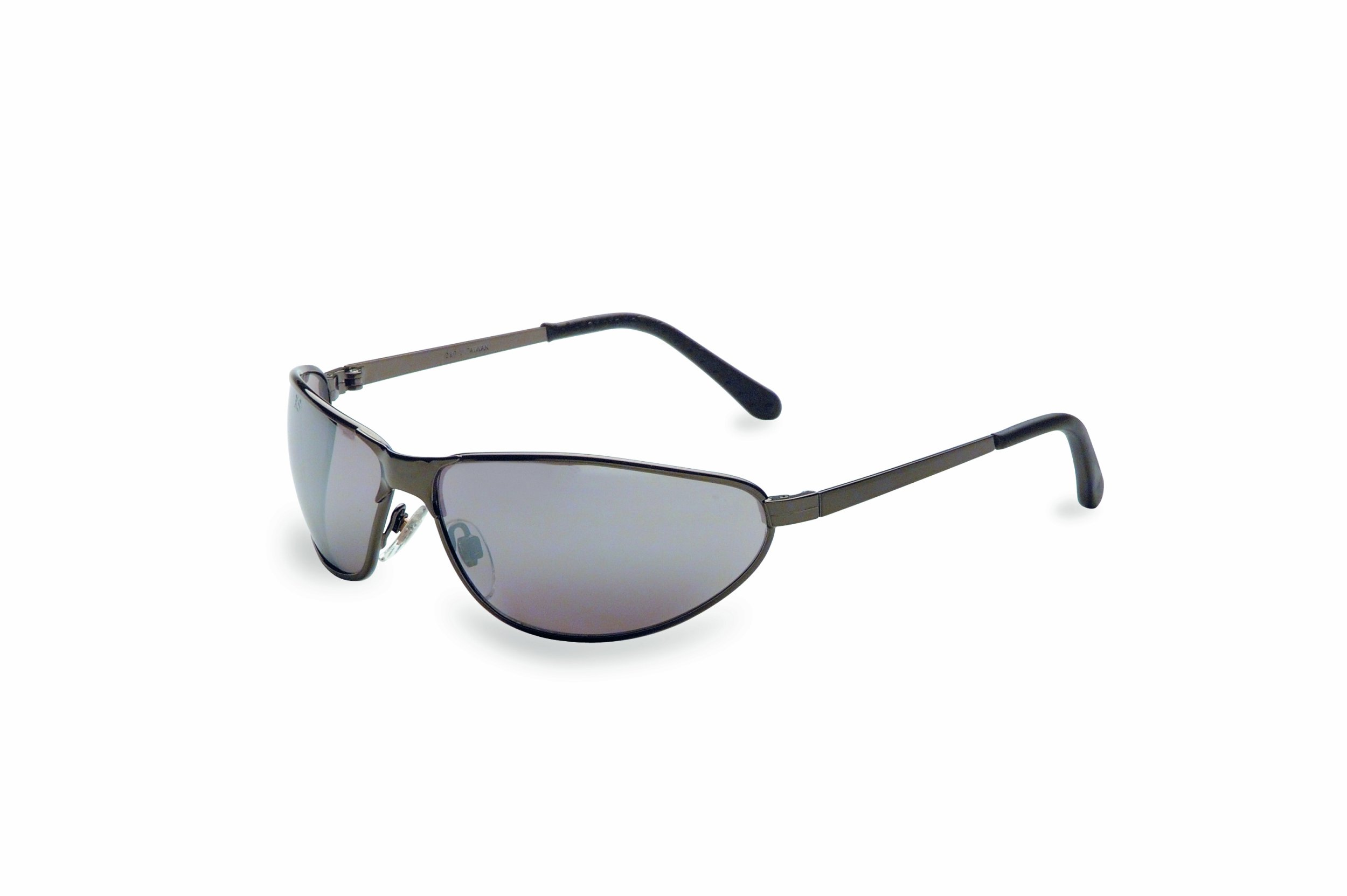 Honeywell Tomcat Metal Frame Tinted Safety Glasses, Gray Lens (RWS-51016)