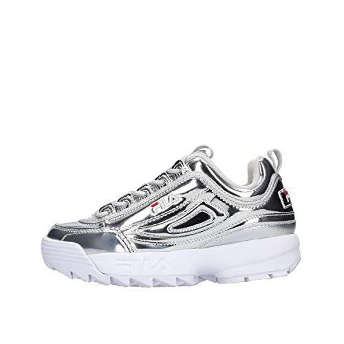 Fila - Scarpe Uomo Donna Argento Silver Sneakers Urban  Amazon.it ... 607ee499257