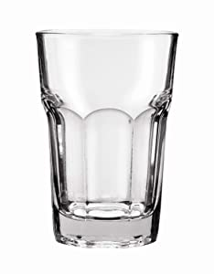 Anchor Hocking New Orleans 10 Ounce Beverage Glass, Rim Tempered - 36 per case