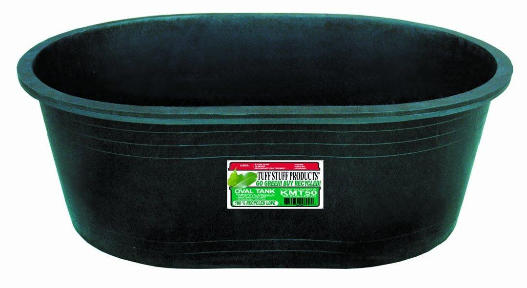 Tuff Stuff Products KMT50 Oval Tank, 50-Gallon by Tuff Stuff