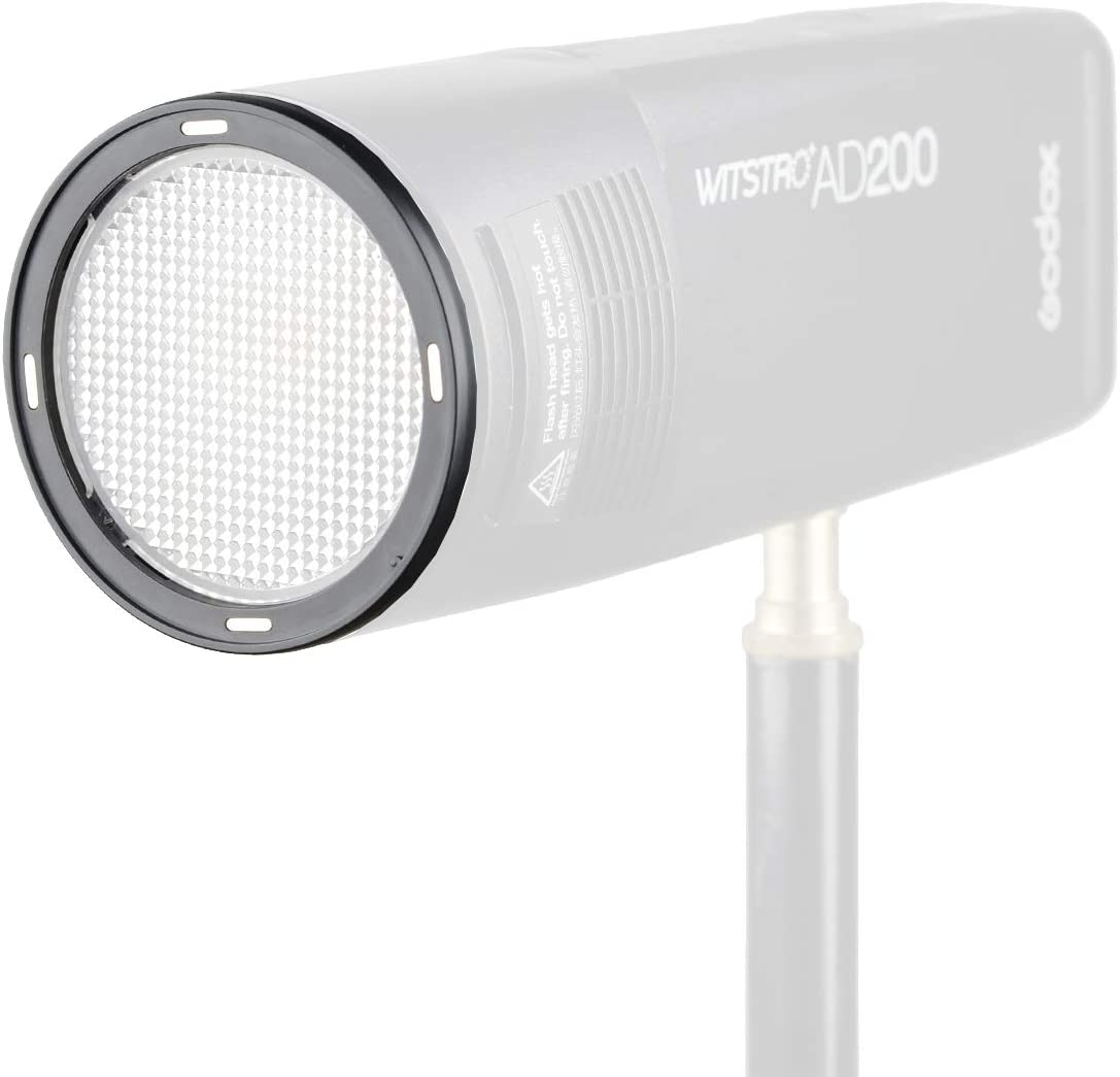 V1-C AD200 utilisation avec Godox H200R T/ête de flash ronde Godox AK-R13 Plaque diffuseur compatible avec Godox V1 Flash Series V1-S AD200 Pro V-1N