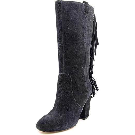 Jayden Women US 10 Black Mid Calf Boot