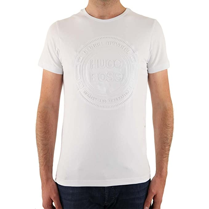 Hugo Boss- Camiseta de manga corta para hombre ...