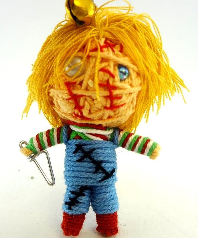Chucky muñeca de vudú cadena clave cadena hecha a mano ...