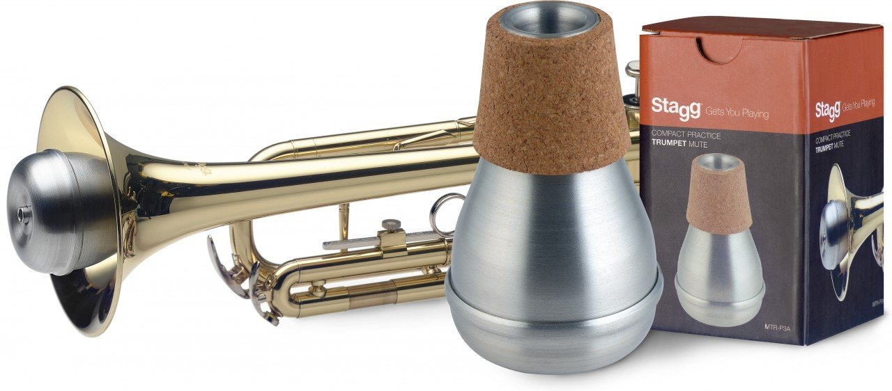 Stagg MTR-P3A Compact Practice Mute for Trumpet