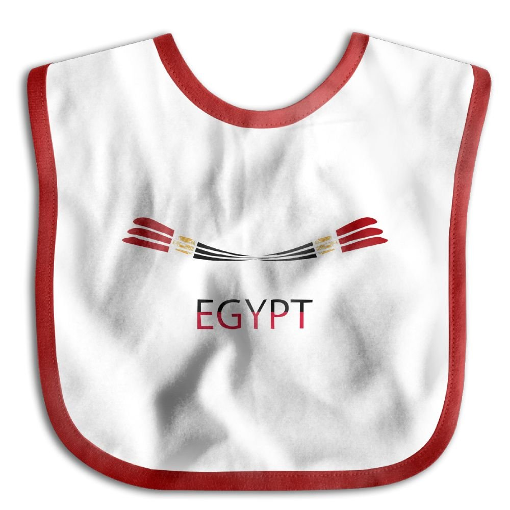 Marima Egypt Flag Personalized Scarf Bib Feeding /& Teething Fancy Baby Bibs and Burp Cloth Polyester Cotton