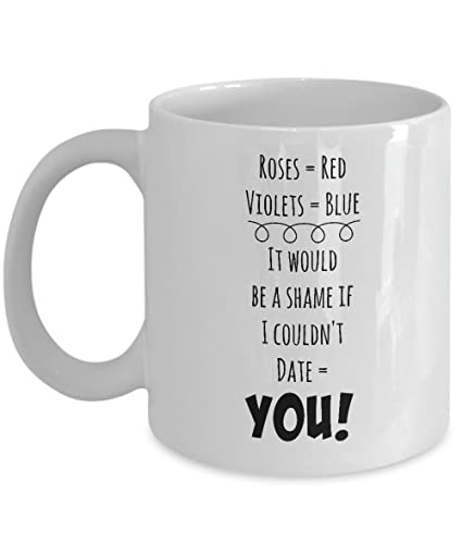 Amazon com: Partner Mug - Want To Date You - Talk Sexy For Women