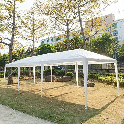 Teekland - Toldo para Exteriores (3 x 9 m, 5 Caras), Color Blanco: Amazon.es: Jardín