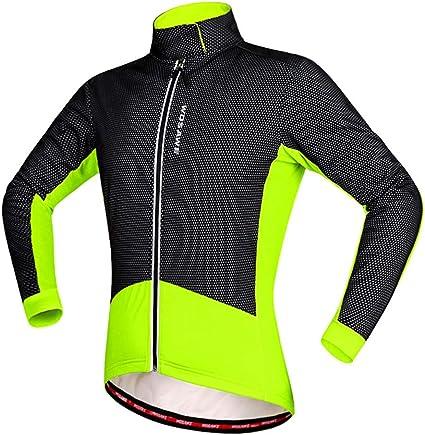 Cycling Jacket Soft Shell Winter Thermal Fleece Windproof Long Sleeve Bike Coat