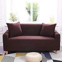 ENZER Housse de canapé en Tissu élastique Extensible Couleur Pure Housse de Protection pour Chien